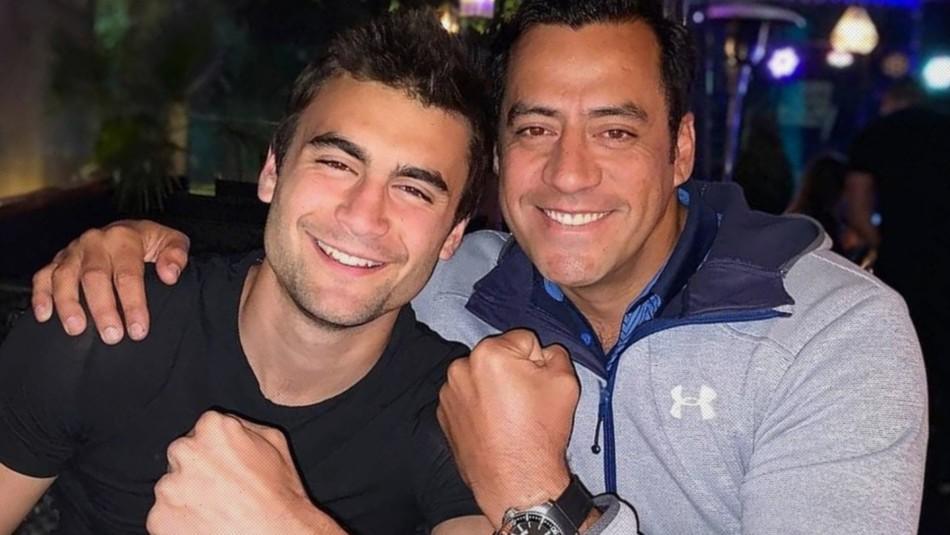 Hotuiti y el hijo de Fran Ayala
