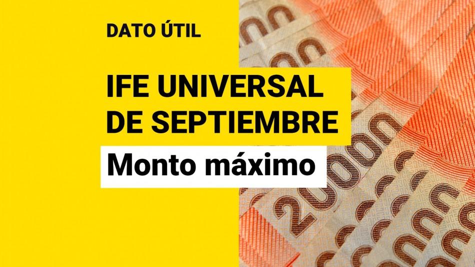 ife universal septiembre