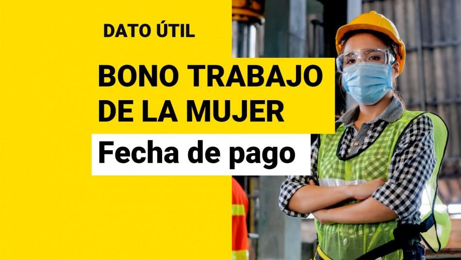 Bono al Trabajo de la Mujer: ¿Cuándo se paga el aporte de septiembre?
