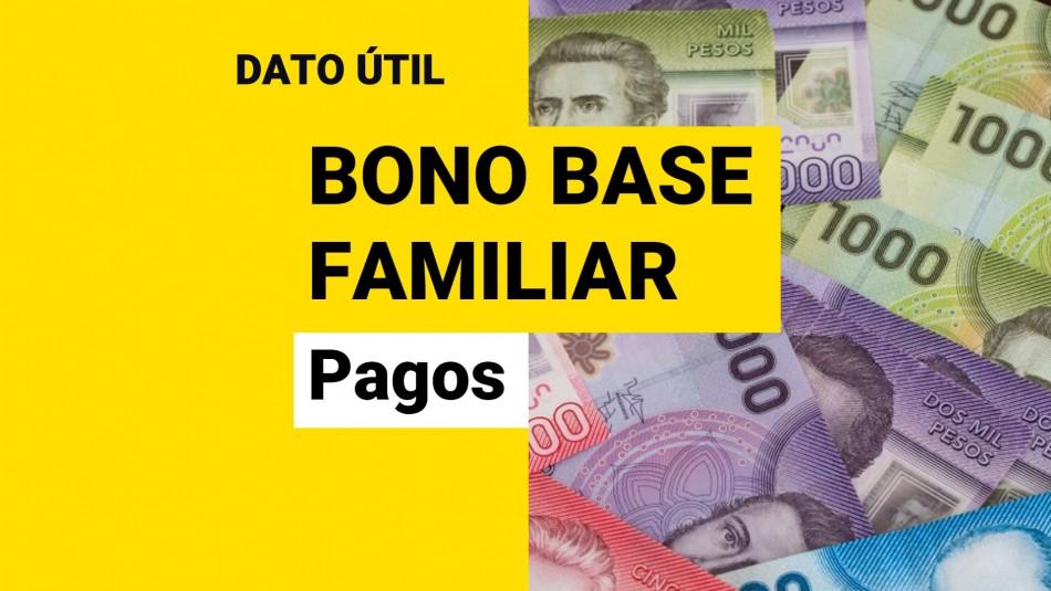Bono Base Familiar: ¿Cómo se paga y cuánto plazo hay para cobrarlo?
