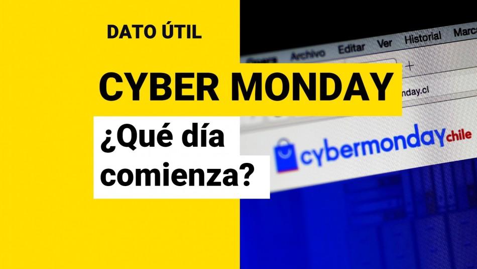 Cyber Monday 2021: ¿Qué día comienza en Chile?