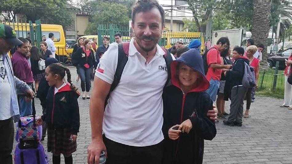 Gonzalo Egas y su linda relación con el hijo de Wilma González: