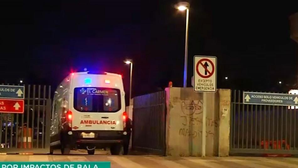 Joven muere baleado tras una discusión entre conductores en Maipú