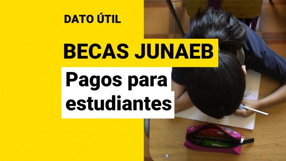 Becas junaeb 2021 pagos para estudiantes