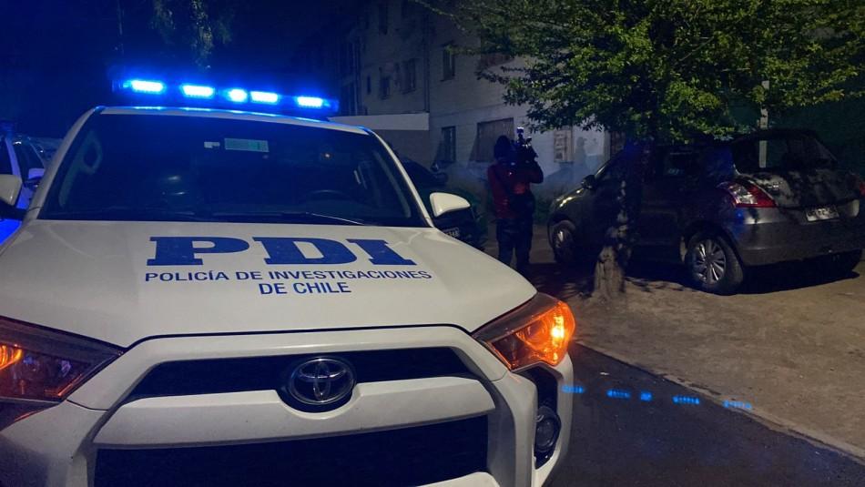 Hombre es asesinado de un disparo en la espalda en su domicilio en Quilicura