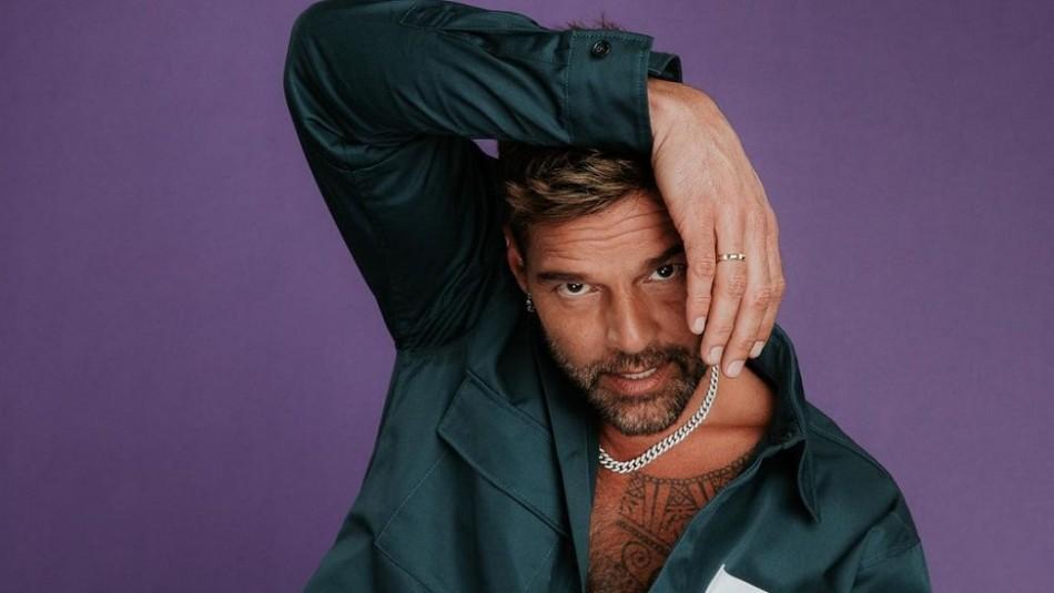 Ricky Martin impacta en desfile de lencería de Rihanna y fans dicen que usa ropa de Harry Styles