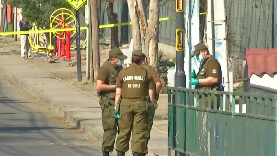 Carabineros San Bernardo balacera menores heridos