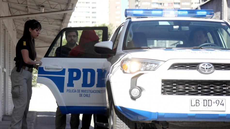 PDI detencion padre abuela niña intoxicada drogas Angol