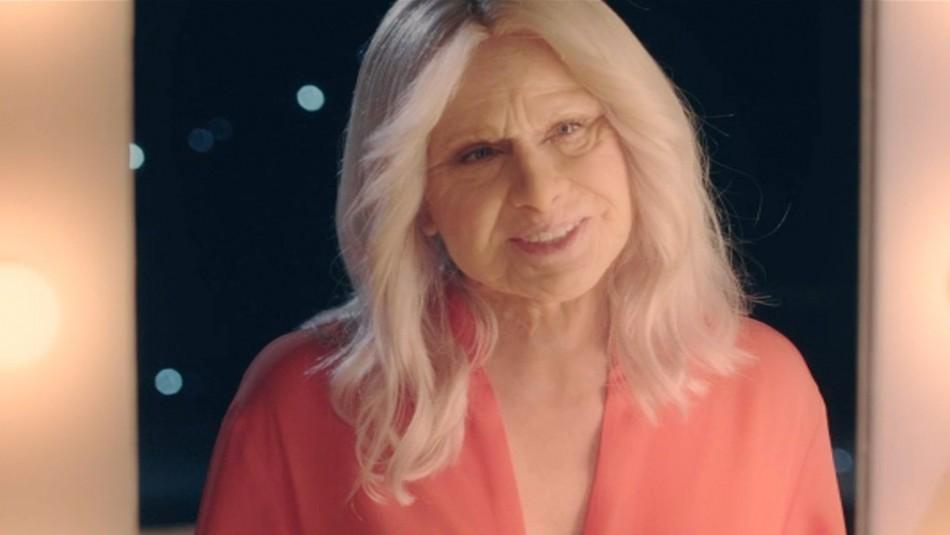 Soledad Onetto se emociona tras verse como adulta mayor: