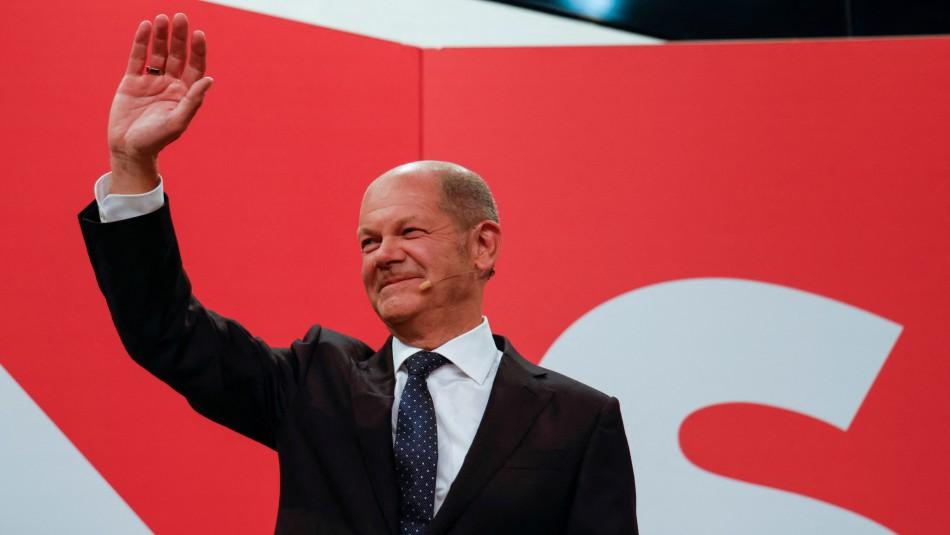 El Partido Socialdemócrata se impuso como ganador en las elecciones federales en Alemania