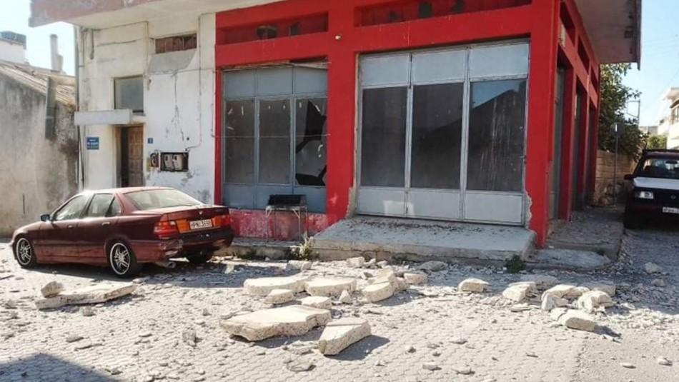 Un muerto y nueve heridos en un terremoto en la isla griega de Creta