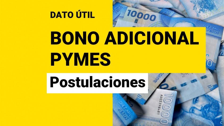Bono Adicional IVA para Pymes: ¿Cómo se postula al beneficio?