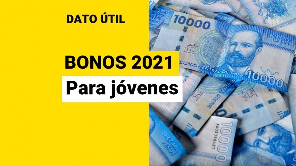 Bonos para jóvenes 2021