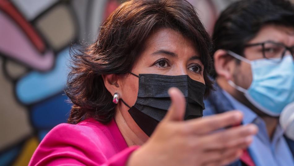 Provoste presiona a Sichel por retiro de fondos de AFP:
