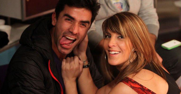 Sebastián Roca y Mariana Marino