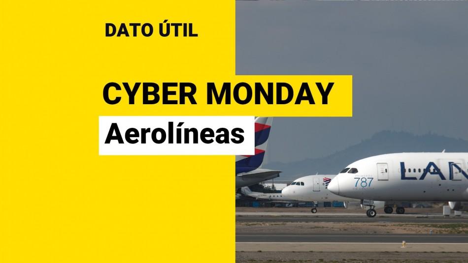 CyberMonday 2021: ¿Qué aerolíneas tendrán ofertas?