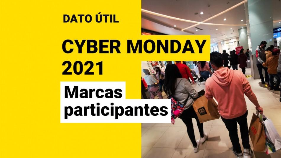 Cyber Monday 2021 marcas participantes