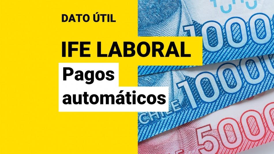 Pagos automáticos IFE Laboral