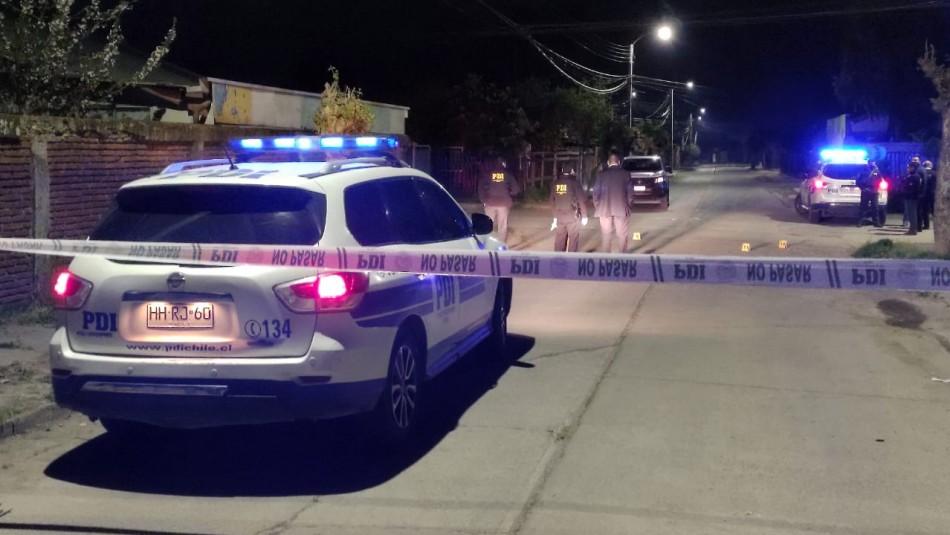 Impacto en Linares por dos homicidios en menos de 24 horas: Víctimas recibieron múltiples disparos