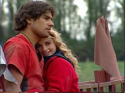 Tanza Varela y Claudio Valdivia en