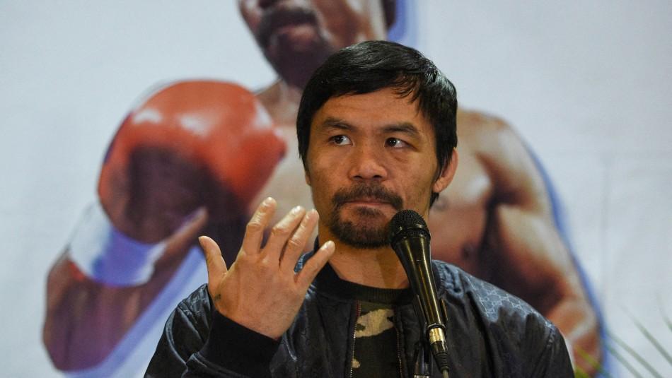 Manny Pacquiao anuncia su retirada del boxeo: