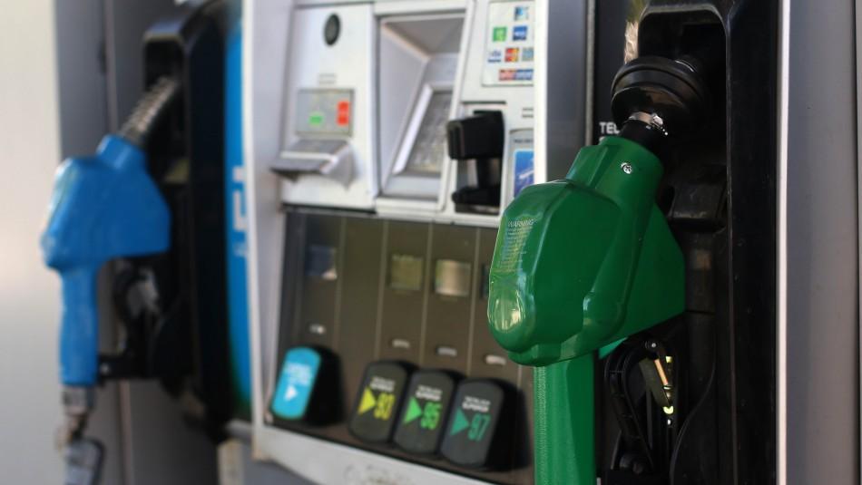 Vuelve a subir el precio de las bencinas desde este jueves