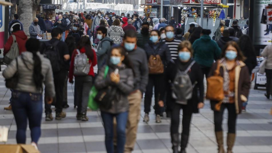 14 regiones aumentan sus casos activos de coronavirus: Sólo Tarapacá y Magallanes bajan los contagios