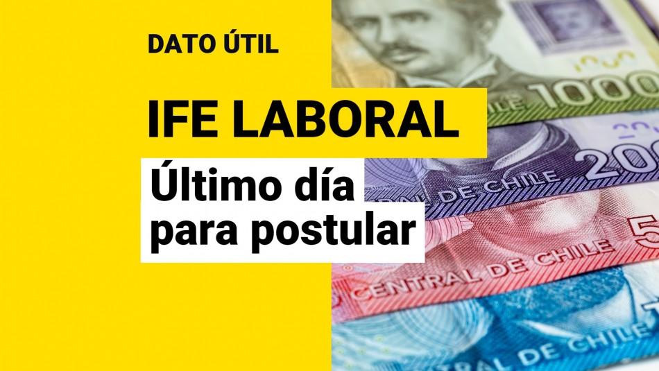 Postular IFE Laboral cuatro pagos