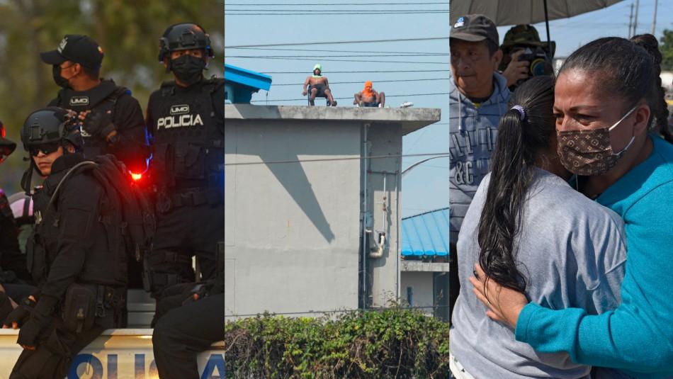 Denuncian hacinamientos y torturas: grave crisis carcelaria en Ecuador con motines que dejan más de 100 muertos