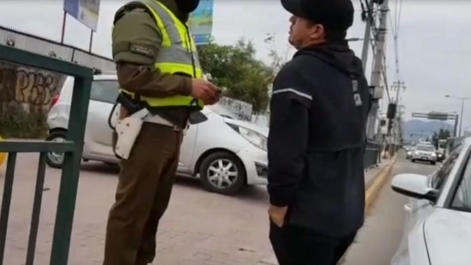Conductor es detenido por intentar sobornar a carabineros con $50 mil para evitar fiscalización