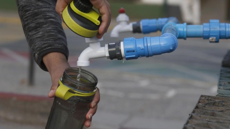 Renca prepara 11 puntos de abastecimiento extra por corte masivo de agua: en total serán 21
