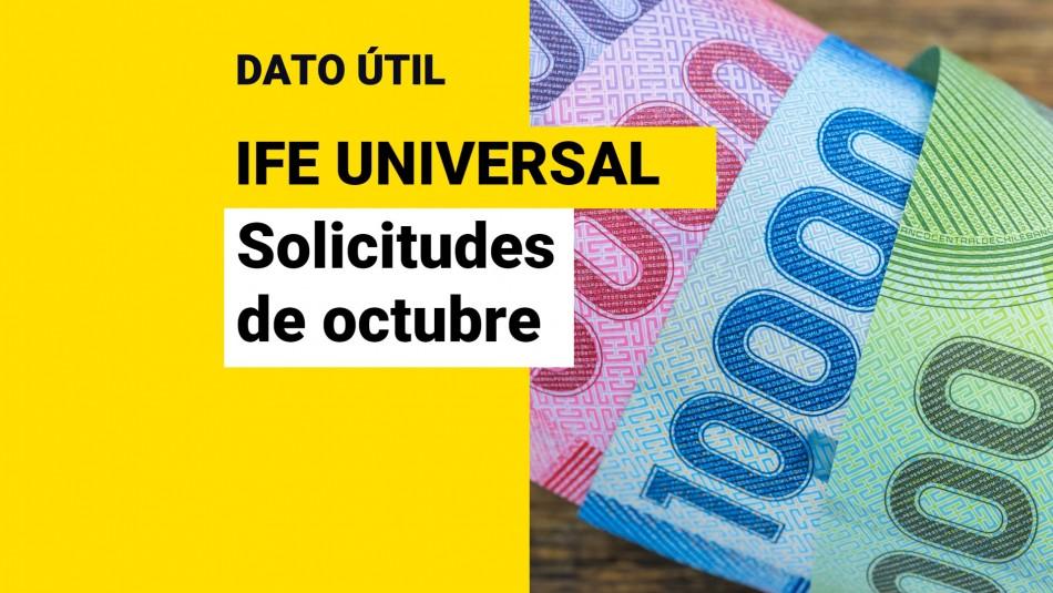 IFE Universal de octubre