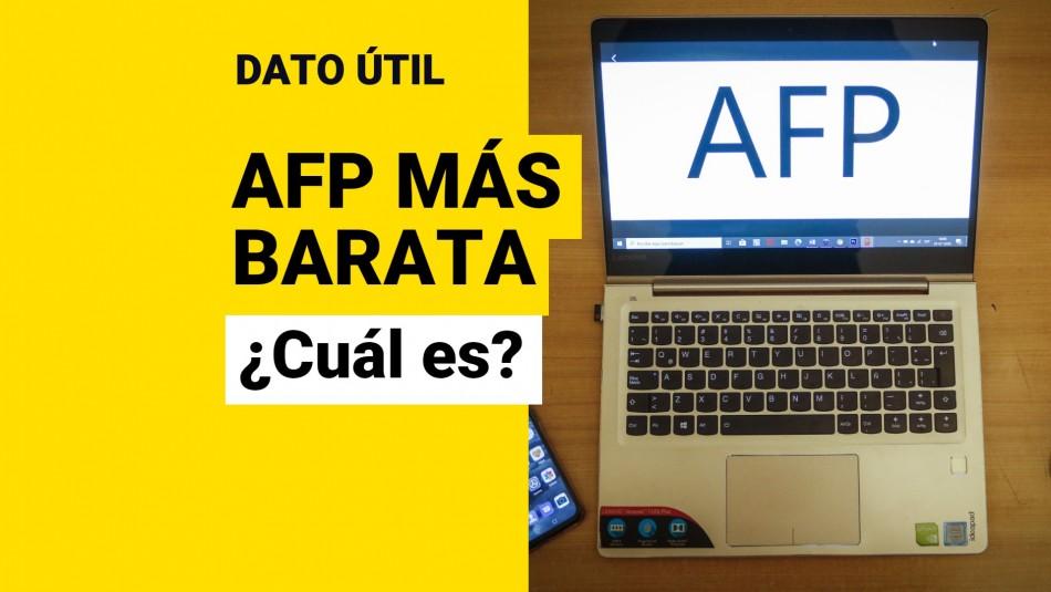 Cuál es la AFP más barata comisiones
