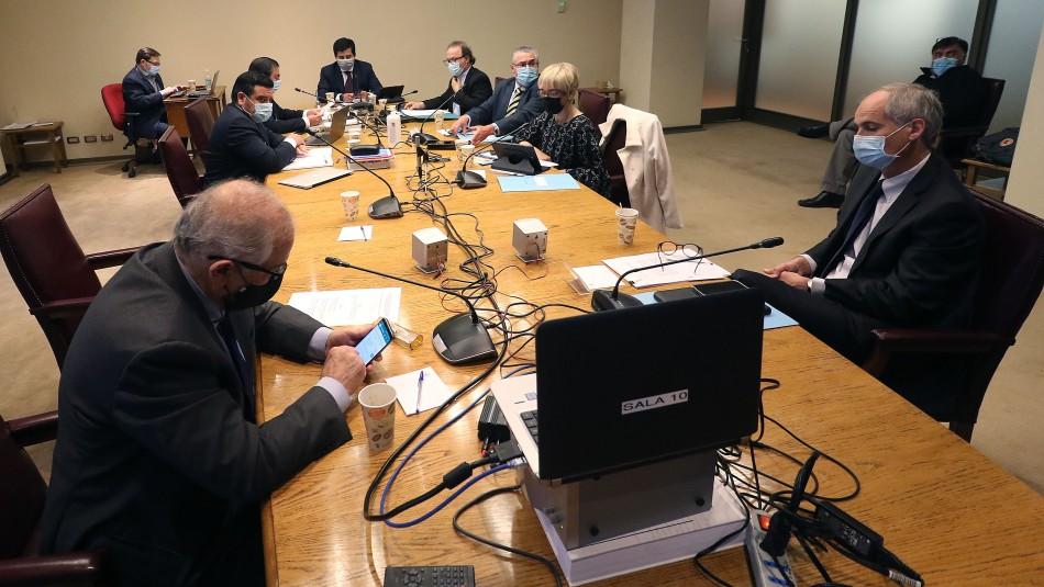 Comisión de Constitución del Senado inició la discusión del cuarto retiro en del Senado