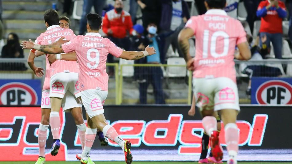Católica derrota a Unión Española y se instala en el segundo puesto del campeonato