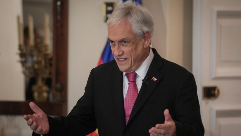 Gobierno por investigación contra Piñera: