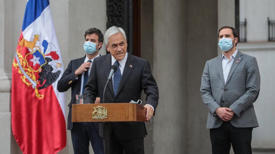 Presidente Piñera por investigación en su contra: