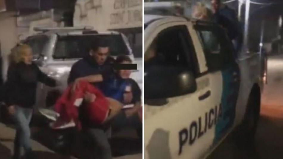 Niño de 10 años sale a comprar comida y es herido por un policía en medio de una balacera contra ladrones