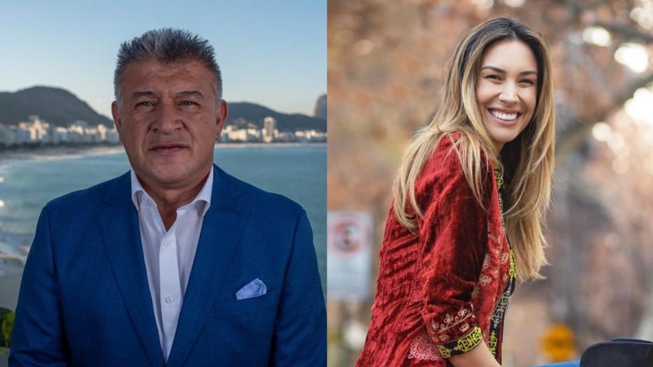 Claudio Borghi y Vanesa Borghi