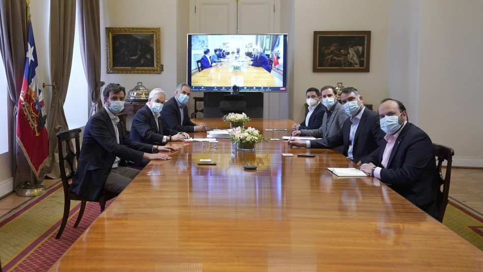 Caso Pandora Papers: Sebastián Piñera sostienen reunión con presidentes de partidos de Chile Vamos