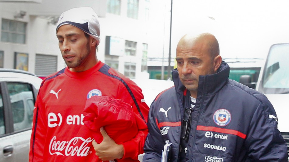 Jorge Valdivia Jorge Sampaoli selección chilena