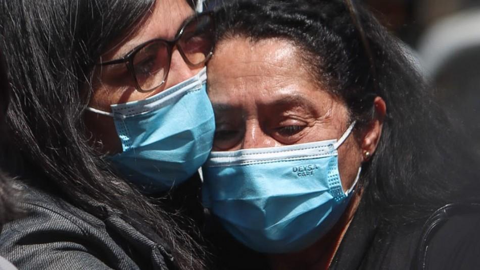 Mamá de mujer que murió en marcha pide justicia: