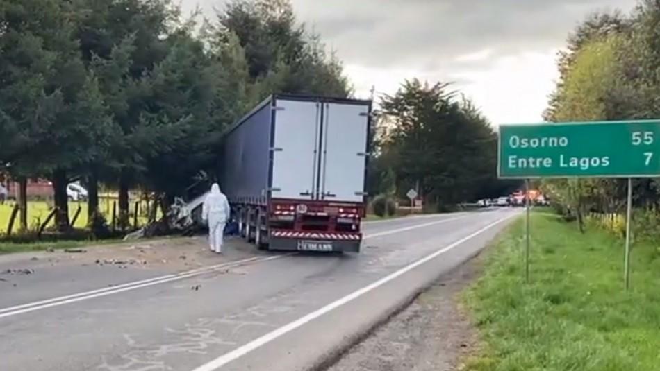 Conductor de camión involucrado en trágico accidente con cuatro fallecidos: