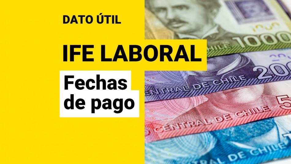 Fechas de pago IFE Laboral