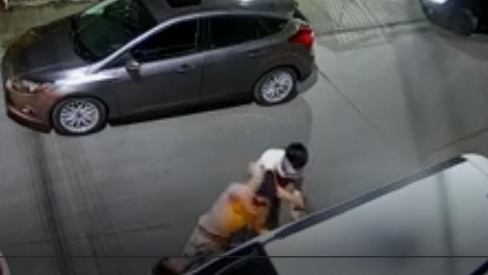 Captan violenta encerrona repelida por una mujer que viajaba con su madre y una hermana en Quilicura