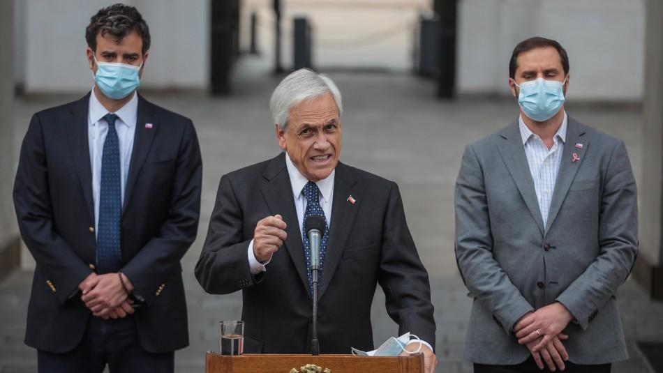 Diputados de oposición ingresarán este miércoles la acusación constitucional contra Piñera