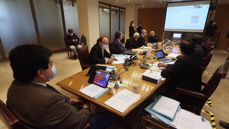 Proyecto del cuarto retiro fue nuevamente discutido este martes en comisión del Senado
