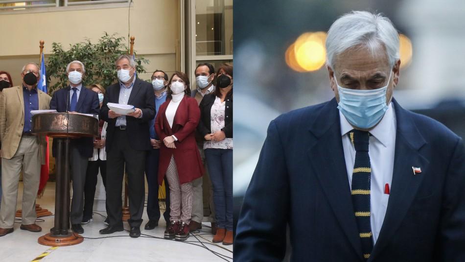Presentan acusación constitucional contra Presidente Piñera por compraventa de Minera Dominga