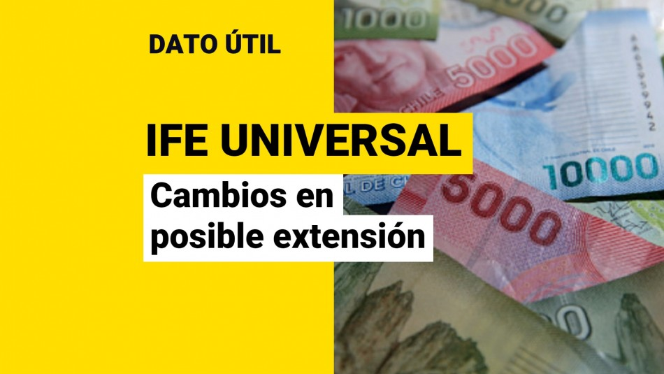 Extensión ife universal cambios