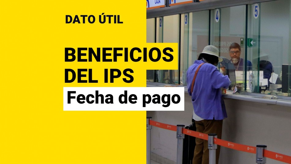 Fecha de pago beneficios ips